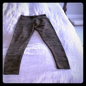 Literally worn once .. Onzie camo leggings